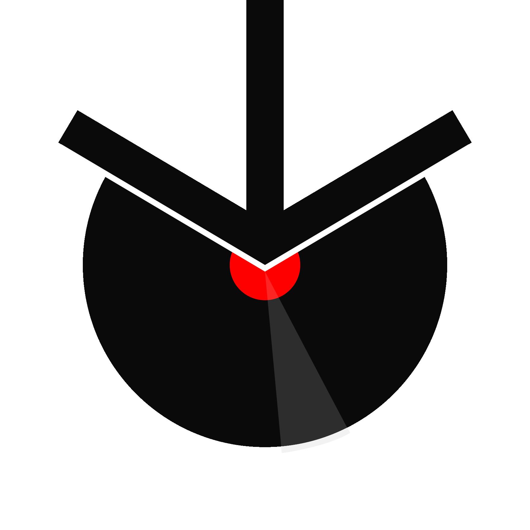Un logo compris d'un vinyle à étiquette rouge avec une flèche de téléchargement par-dessus