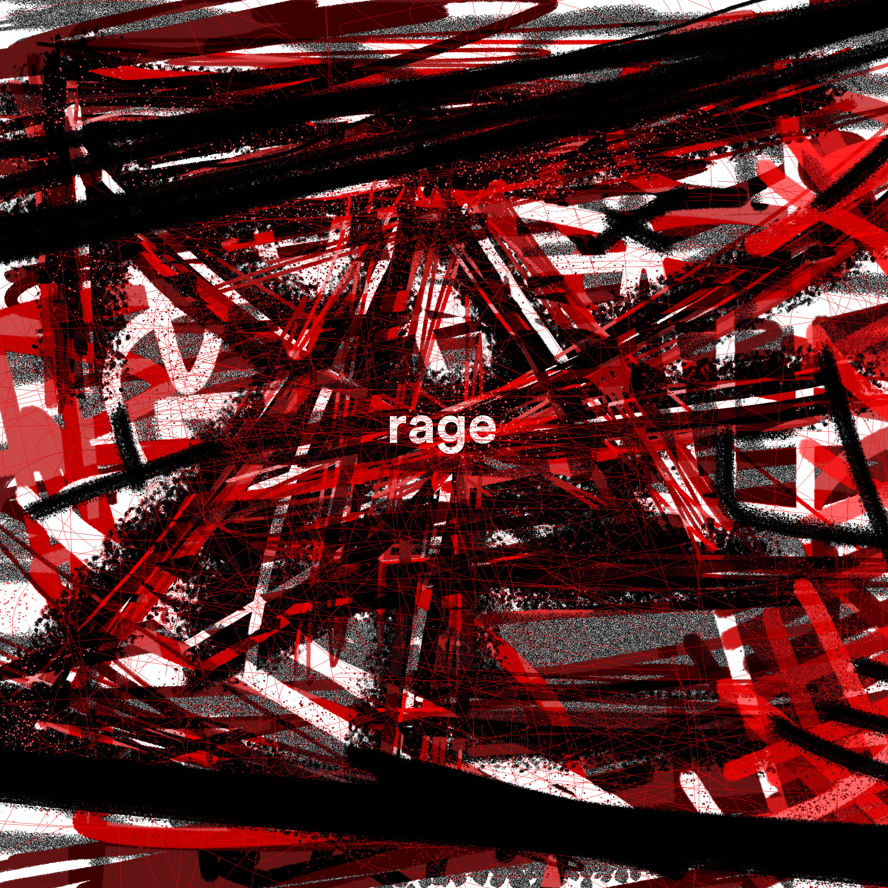 Cover art for playlist 'rage'