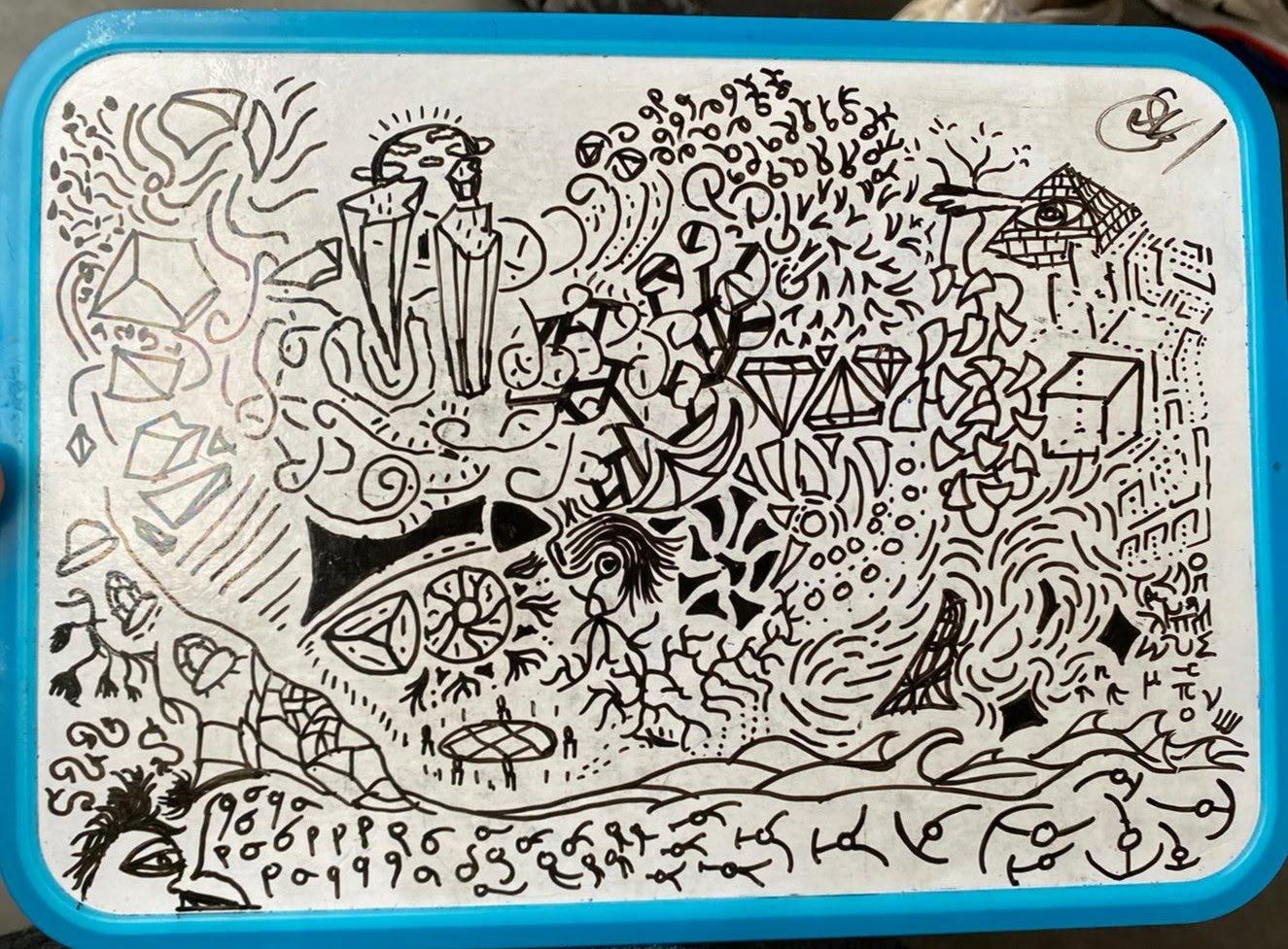 """Whiteboard drawing"